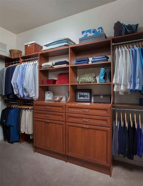 warm cognac closets traditional closet by