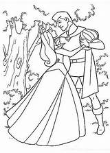 Coloring Prince Princess Pages Aurora Sleeping Beauty Printable Phillip Philip Dance Drawing Dancing Forest Sheets Colouring Disney Elsa Colour Pinkalicious sketch template