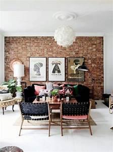 Mur Brique Salon : les briques de parement et les briques apparentes ~ Zukunftsfamilie.com Idées de Décoration