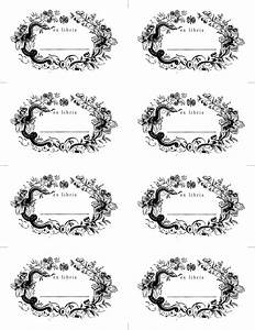 made with love bookplates designsponge With free printable bookplates templates