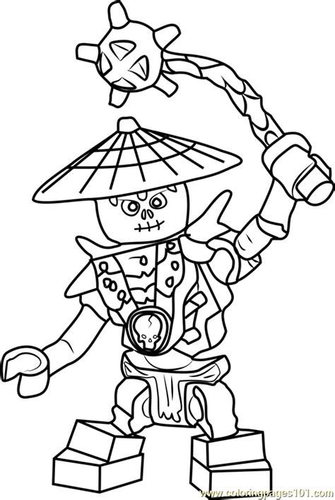 ninjago frakjaw coloring page  lego ninjago coloring