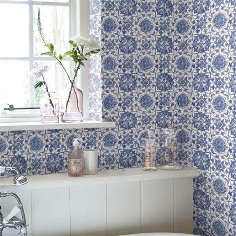 bathroom wallpapers  pick    ideal home