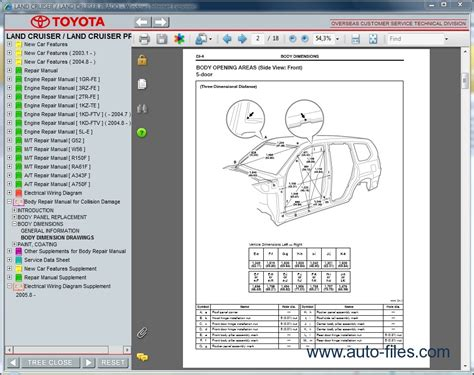 toyota on line toyota land cruiser prado repair manuals download