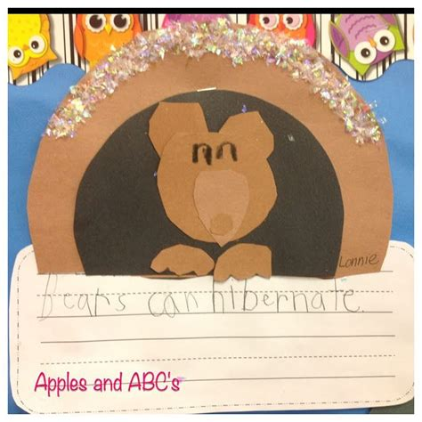 189 best bears and hibernation theme images on 413   48e358ae792afe5003d6b1943e8298c9 preschool winter winter craft