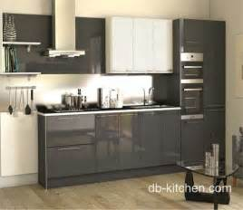 High Gloss Lacquer Finish Kitchen Cabinets by High Gloss Acrylic Grey Custom Modern Kitchen Cabinet