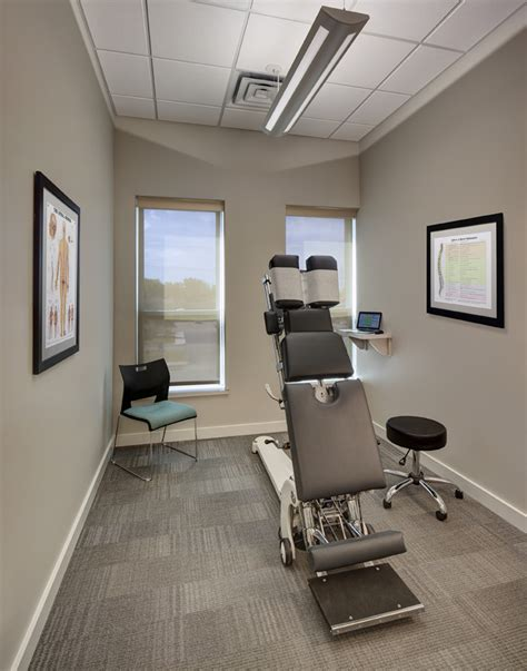 chiropractor created  perfect office space