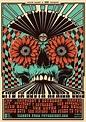 Simon Berndt's gig posters invoke psychedelic rock-era art ...