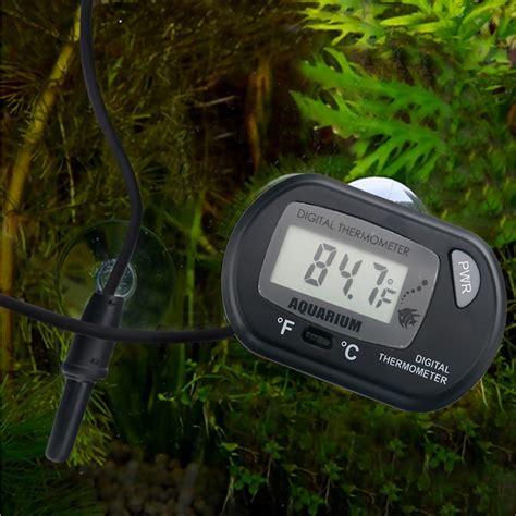 Termometer Digital Aquarium hde lcd digital aquarium thermometer chewy