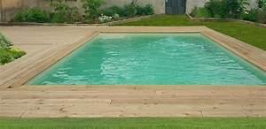 la terrasse et plage de piscine en meleze de jerome j With piscine sur terrasse bois