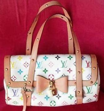 louis vuitton white papillon monogram bag rare  sale  north port florida classified