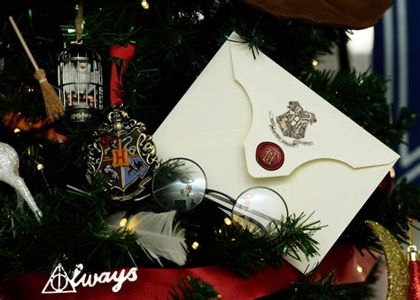 harry potter themed christmas tree decorated by kathryn