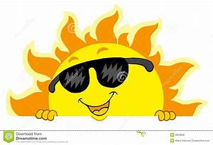 Free Sun With Sunglasses Clipart   www.tapdance.org
