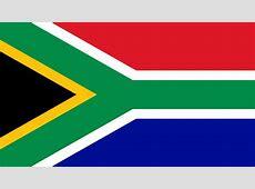 Bandera e Himno Nacional de Sudáfrica Flag and National