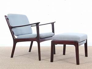 Repose Pied Scandinave : repose pied scandinave en acajou pour fauteuil pj 112 galerie m bler ~ Melissatoandfro.com Idées de Décoration