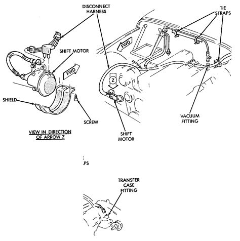 1990 Jeep Wrangler 4x4 Vacuum Diagram by 95 Jeep Wrangler 2 5l 4x4 Vacuum Line That Run From