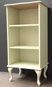 Schrank Regal Weiß : chippendale regal b cherregal schrank alt weiss lackiert 51 x 101 x 38 cm kaufen bei volker ~ Orissabook.com Haus und Dekorationen