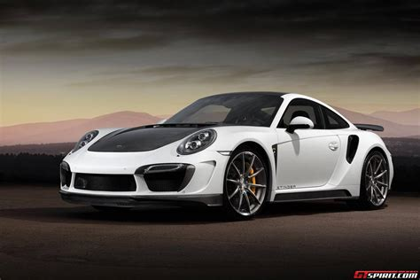 Porsche 911 Turbo by Official Topcar Porsche 911 Turbo And Turbo S Stinger Gtr