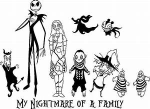 Nightmare Mayor Before Christmas Coloring Pages For A ...