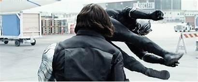 Negra Panther Pantera Marvel Civil War Chadwick