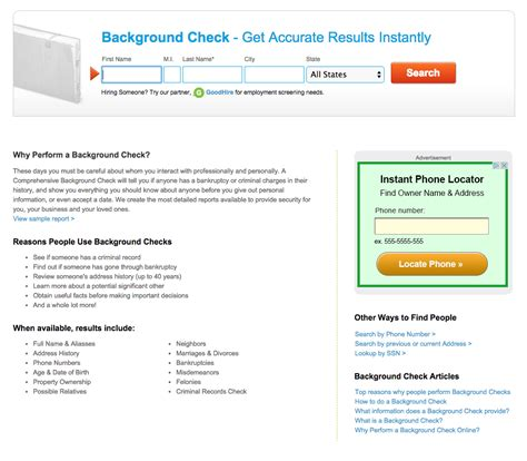 Top Background Check Companies Top 20 Complaints And Reviews About Peoplefinders