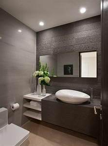 17 meilleures idees a propos de salle de bains sur With salle de bain moderne grise