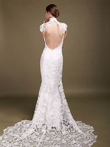 backless wedding dresses dressed up girl With wedding dresses with lace