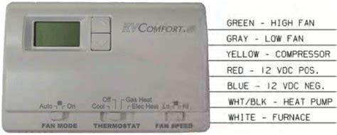 Thermostat Standard Digital Wire Coleman Heat Pump