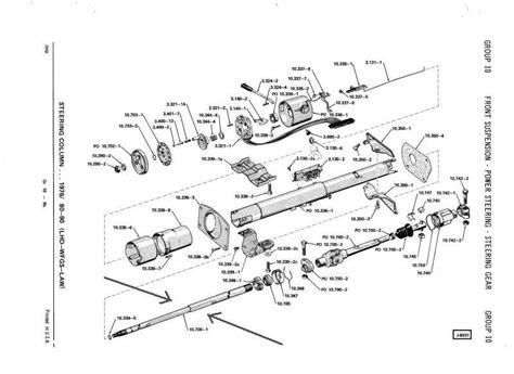 Steering Colum Parts Diagram Needed Jeep