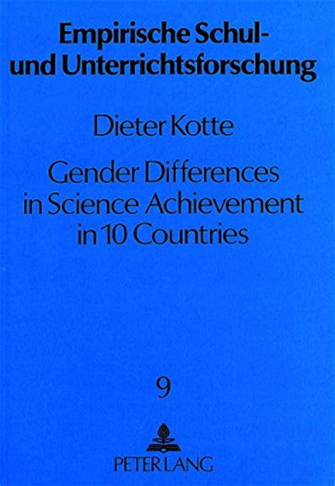 gender differences  science achievement   countries        ebay