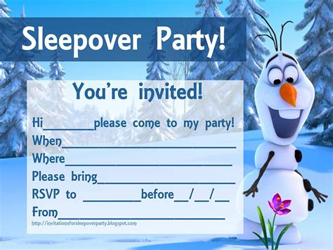 sleepover party invitations party xyz