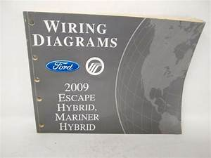 2009 Oem Ford Escape Mercury Mariner Hybrid Wiring
