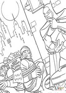 Kleurplaat Batmobiel by Batman The Criminal Coloring Page Free Printable