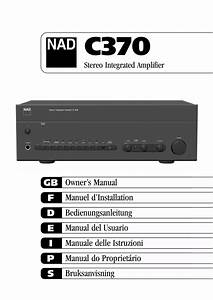 Download Free Pdf For Nad C370 Amp Manual