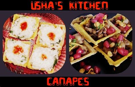 fillings for canapes usha 39 s kitchen canapes with various fillings 4 fillings