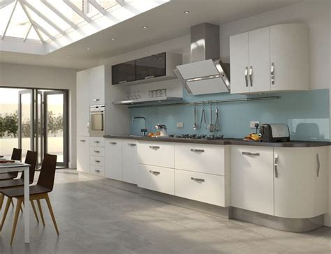 white cabinets gray floor high gloss white kitchen with grey floor creating a 278 | 61a7f88bdd38af101e39a1fb9af91848