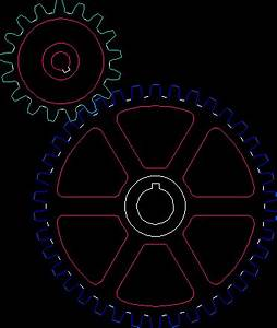 Gears DWG Block for AutoCAD • Designs CAD
