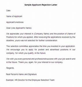 27+ Rejection Letters Template HR Templates Free & Premium Templates Free & Premium Templates