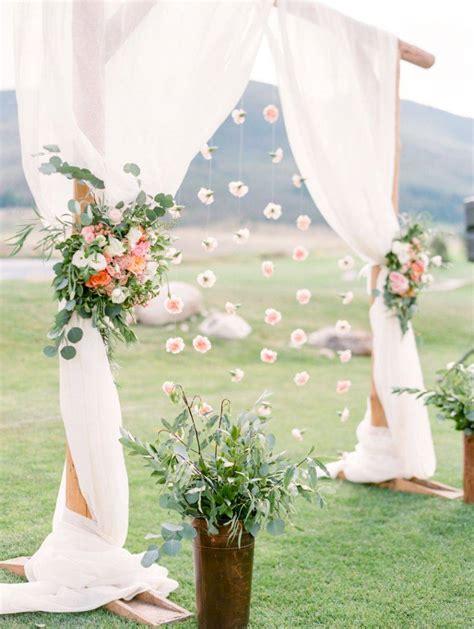 decoration de mariage exterieur d 233 co mariage romantique nos id 233 es pour un mariage pastel inoubliable