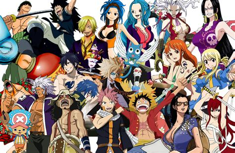 Fairy Tail X One Piece Ver. 2 (remake) By Negator7 On
