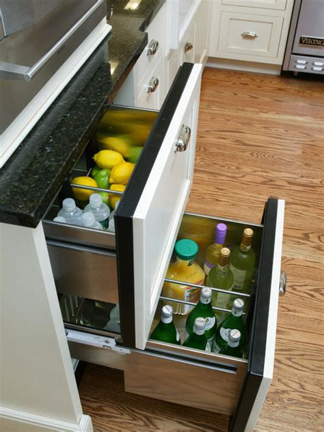 undercounter fridge drawers home design ideas pictures
