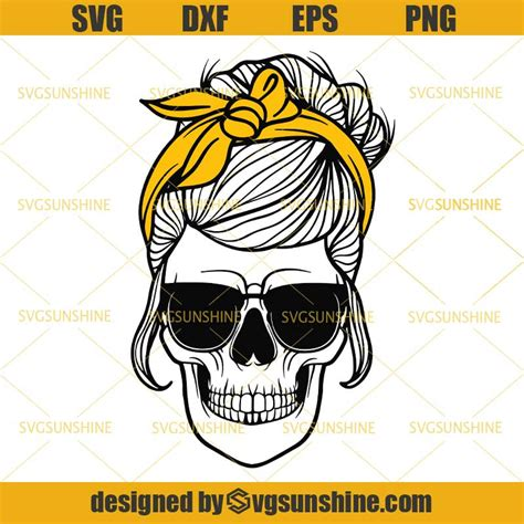Feel free to purchase our items with maximum discount possible. Skull Bun Hair Svg, Mom Skull Svg, Messy Bun Skull Svg ...
