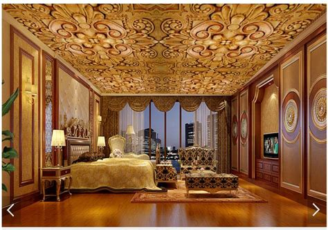 wallpaper custom  ceiling wallpaper murals european