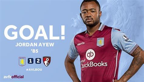 VIDEO: Watch Jordan Ayew scoring for Aston Villa in defeat ...