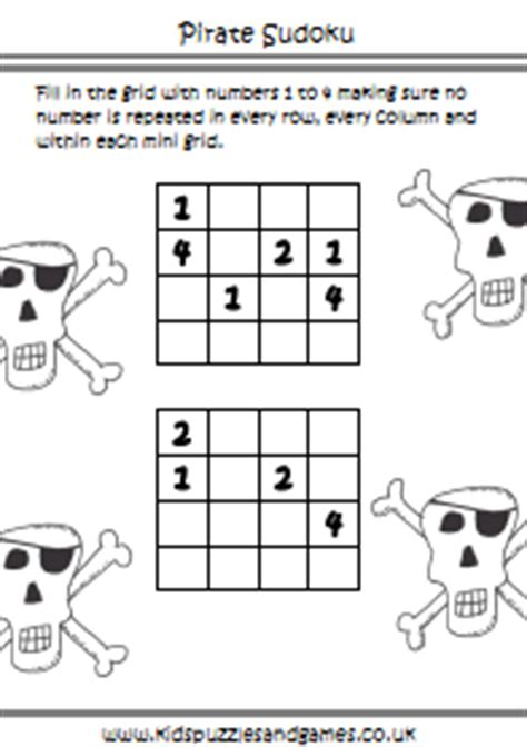 pirates kids puzzles  games