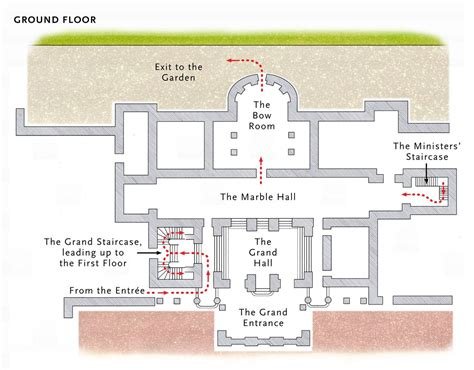 Buckingham palace has served as the official london residence of britain's sovereigns since 1837 and buckingham palace is not only the home of the queen and prince philip but also the london. Plan : Buckingham Palace, Ground Floor . Scala Publishing | Buckingham Palace | Pinterest ...