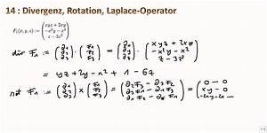 Rotation Berechnen : mathe ii 14 divergenz rotation laplace operator youtube ~ Themetempest.com Abrechnung