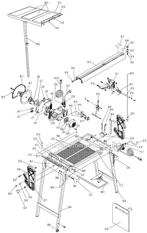 mk 100 tile saw accessories mk mk 112 parts list and diagram