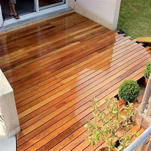 Bois Exotique Pour Terrasse : lame de terrasse composite ou bois exotique bois terrasse ~ Dailycaller-alerts.com Idées de Décoration