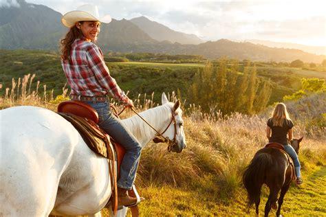 Princeville Ranch Waterfall Picnic Horseback Ride - Kauai ...