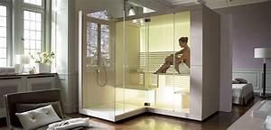 Construire Un Sauna : un hammam individuel domicile blog d co salle de bains ~ Premium-room.com Idées de Décoration